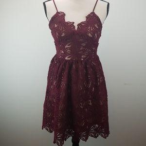 J.O.A Midi Dress